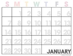 monthly printable calendar 2018 free printable calendar editable monthly calendar