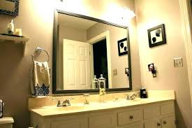 ideas mirror frame old seemly bathroom trim framing creative small decorating images border i