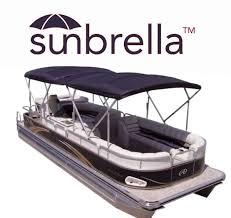 view larger sunbrella twin pontoon boat bimini tops