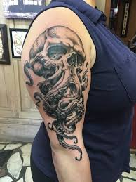Cthulhu Done By Henry In New Orleans At Downtown Tattoo Tattoos