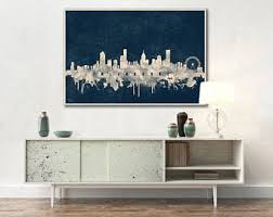 Small Picture Melbourne skyline Etsy