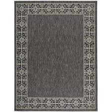 country side charcoal 10 ft x 13 ft indoor outdoor area rug