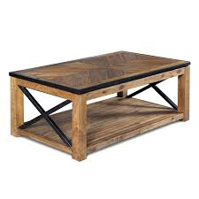 Industrial Round Coffee Table Industrial Coffee Tables On Hayneedle 36 Round Reclaimed Wood