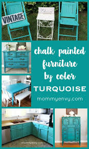 ideas to paint furniture. turquoise chalk painted furniture ideas to paint