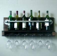 wine glass rack ikea mount hanger stemware stunning metal wall