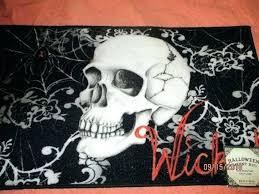 sugar skull rug skull area rug wicked skull black kitchen accent door mat area rug day sugar skull rug
