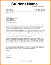College Cover Letter For College Admission College Application