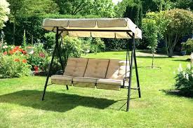 3 seat patio swing