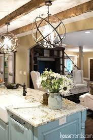 island lighting fixer upper kitchen pendant height