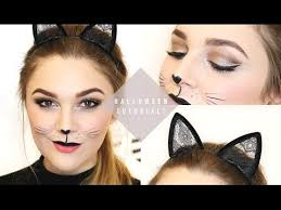 quick easy cat makeup tutorial