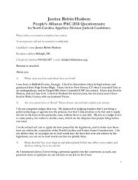 Robin Hudson 2014 Pa-Pac Questionnaire