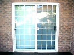 burglar bars for sliding glass door sliding door bar patio door security bar marvelous patio door
