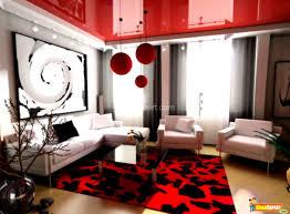 modern apartment living room ideas black. Red And Black Living Room Decor \u2013 Modern House. Apartment Ideas F