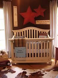 image of rustic baby boy nursery bedding