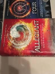 divergent divergent insurgent allegiant set by veronica roth 2018 hardcover 1st edition ebay