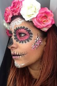 makeup ideas sugar skull makeup tutorial crown brush sugar skull make up tutorial