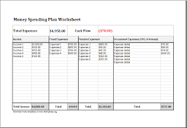 Money Management Template Money Excel Magdalene Project Org