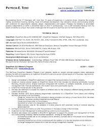 Sharepoint Resume Sample Luxury Sharepoint Administrator Resume