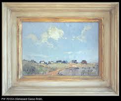 framed oil gesso frame