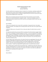 6 How To Write A Thank You Follow Up Interview Letter Paige Sivierart