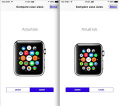 Iphone Actual Size Comparison Chart Compare Actual Apple Watch Sizes With An Iphone Osxdaily