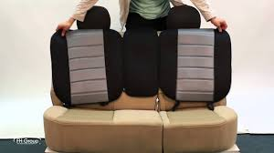How to Install <b>Rear</b> Bench <b>Cushion Pads</b> for Your <b>Car Seat</b> - FH Group