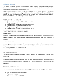 Resume Writing By The Architect Issuu