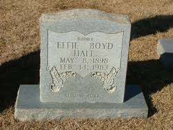Effie Boyd Hall (1898-1983) - Find A Grave Memorial