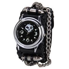 popular latest wrist watch man buy cheap latest wrist watch man luxury watch 2017 latest men s watches punk rock chain skull band women men bracelet cuff gothic