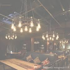loft retro industrial wind gear chandelier personalized with regard to chandelier restaurant