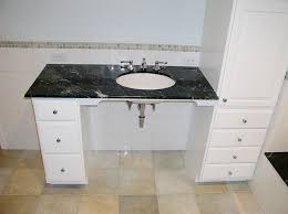 handicapped accessible bathroom sink counter. this bathroom proves that a handicapped accessible sink counter 0