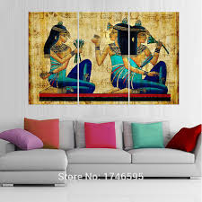 >big size modern living room home wall art decor abstract egyptian  big size modern living room home wall art decor abstract egyptian hieroglyphics papyrus wall art picture print canvas painting in painting calligraphy