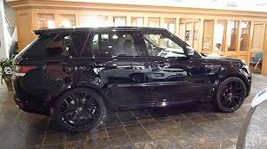 land rover 2015 black. 2015 range rover sport mariana black autobiography stealth pack youtube land