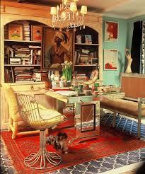 web design workspaces workspace office interior. Madeline Weinrib Indigo Brooke Cotton Carpet In Designer Ruthie Sommers\u0027 Office #webdesign #design Web Design Workspaces Workspace Interior