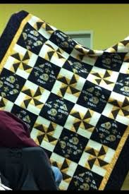 129 best College/NFL Quilts images on Pinterest | Beautiful, Black ... & New Orleans Saints Quilt I made for my Grandson Rob in 2011 Adamdwight.com