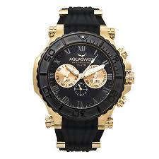 black and gold watch aquaswiss men s black and gold bolt 5h watch