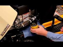 how to change the oil and filter on a cub cadet riding lawn mower how to change the oil and filter on a cub cadet riding lawn mower
