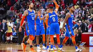 Okc Depth Chart Paul George And Russell Westbrook Elevating Thin Oklahoma