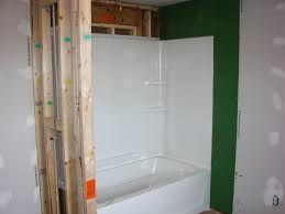 how to install fiberglass tub shower combo bathroom ideas