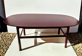large italian mahogany low coffee table