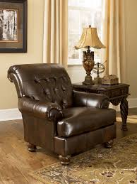 ashley furniture fresco durablend antique accent chair to enlarge