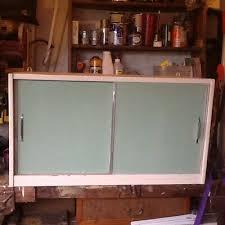 vintage retro kitchen wall cupboard