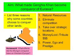 genghis khan essay
