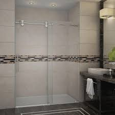 Bathroom: Terrific Lowes Shower Glass - Lowes Shower Doors With Rain ...