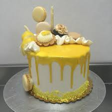 Lemon Drip Cake As Delicate As Sugar Lemon Birthday Cakes