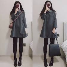 <b>2018 New Mid Long</b> Loose And Thick Woolen Dress With Doll ...