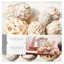 Decorative Vase Filler Balls Threshold™ Vase Filler White Accented Home Pinterest Trays 6