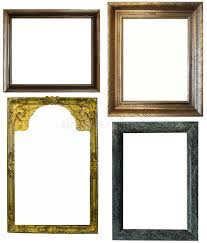 download antique frames on the white background stock photo image of gift interrior white antique picture frames h5 white