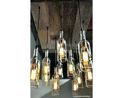glass bottle chandelier diy glass bottle chandelier diy glass bottle chandelier wine bottle chandelier at home