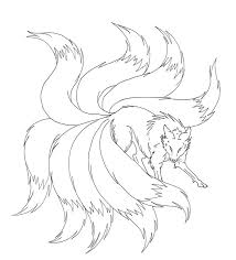 Small Picture Naruto Nine Tails Coloring Pages coloring Pages Pinterest Naruto